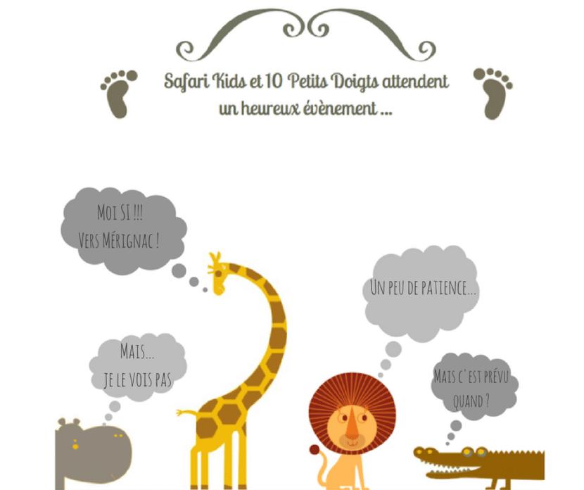 Safari Kids Et 10 Petits Doigts Attendent Un Heureux événement